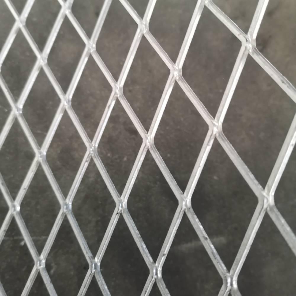 菱型烤漆菱形钢板网/商场货架用菱形钢板网【冠成】