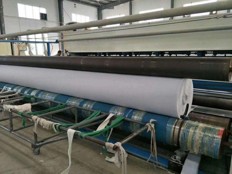 山东现货供应 多规格防渗布 聚酯土工布 强度高柔韧性好耐酸碱 管道防护土工布