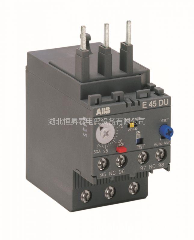 ABB电子过载继电器E 45 DU 45A