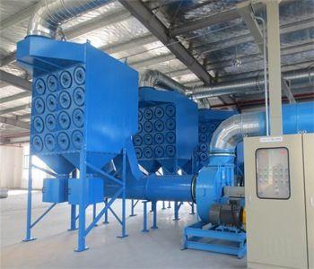 要烘干机排放的废气达标,所需要的几种除尘器和它们的使用范围腾飞环保专业介绍