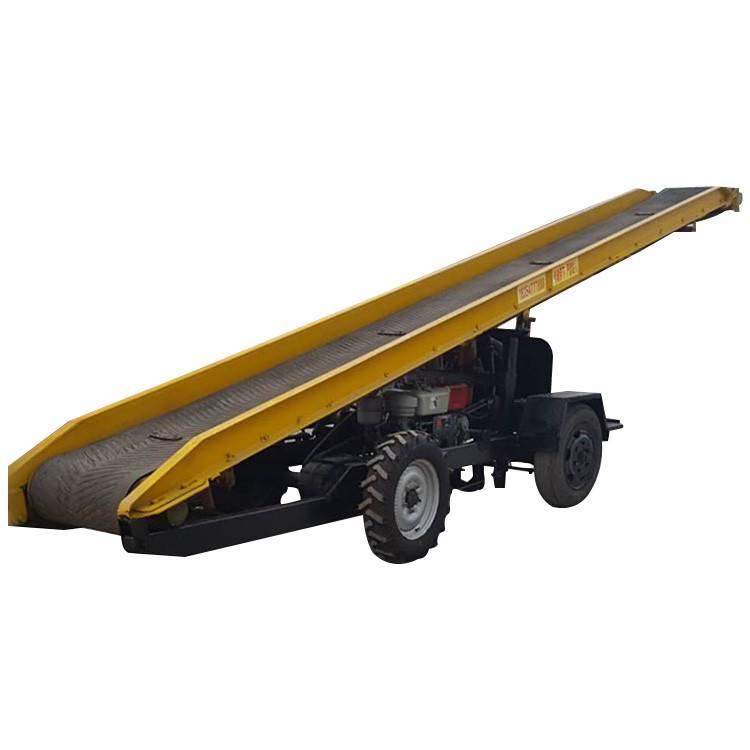 皮带输送机厂家 六九重工 供应 布匹传送机 散装粮食升降式输送机 自动化升降式传送机