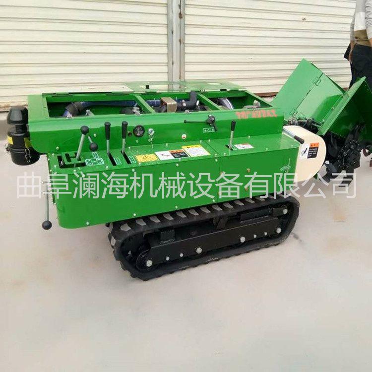 苗圃基地排水开沟机 新型柴油履带式开钩机