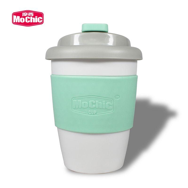 MoChic摩西pla杯子定制便携防漏随手杯可降解咖啡杯批发生产厂家