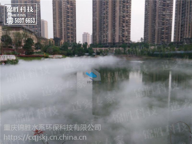 重庆园林景观人造雾方案设计,喷雾设备生产,景平面设计面试作品怎么做图片
