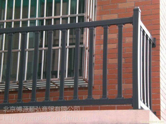 济宁锌钢飘窗围栏HC,济宁组装防盗窗Q235,喷塑百叶空调围栏,锌合金百叶窗,