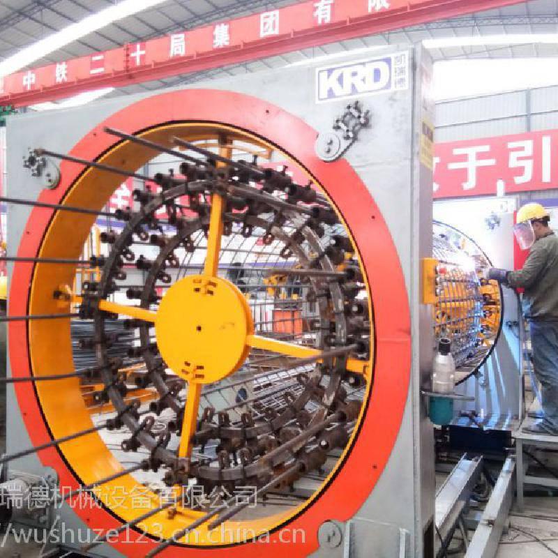 数控钢筋笼滚焊机KL-1500-12伺服电机加高精度行星轮减速机版