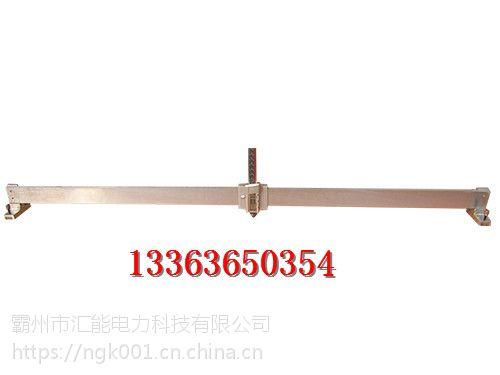 铁轨专用 机械钢轨波磨测量尺 电子磨耗测量仪 钢轨波磨汇能
