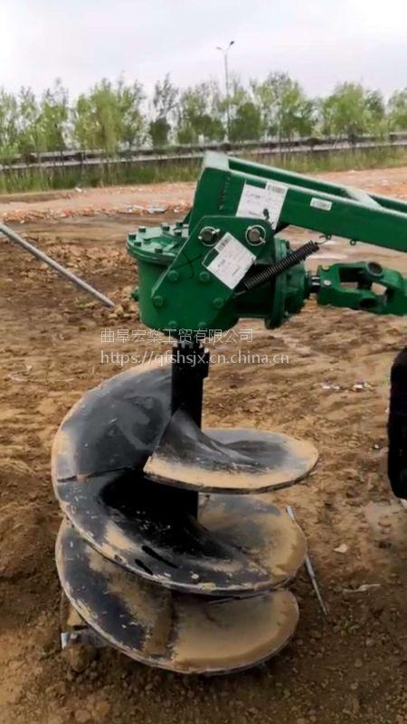 山东耐用的打坑机哪里买 植树电线杆绿化挖坑机