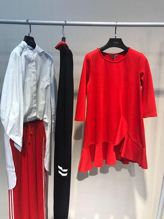 十三行服装批发市场品牌折扣女装正品清仓剪标夏品牌折扣店加盟女装山水雨稞