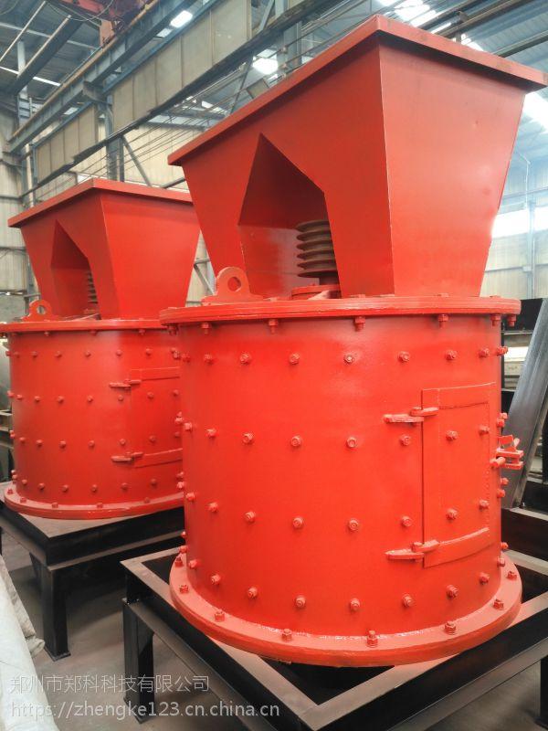 河南郑州郑科800型立式复合破碎机的价格