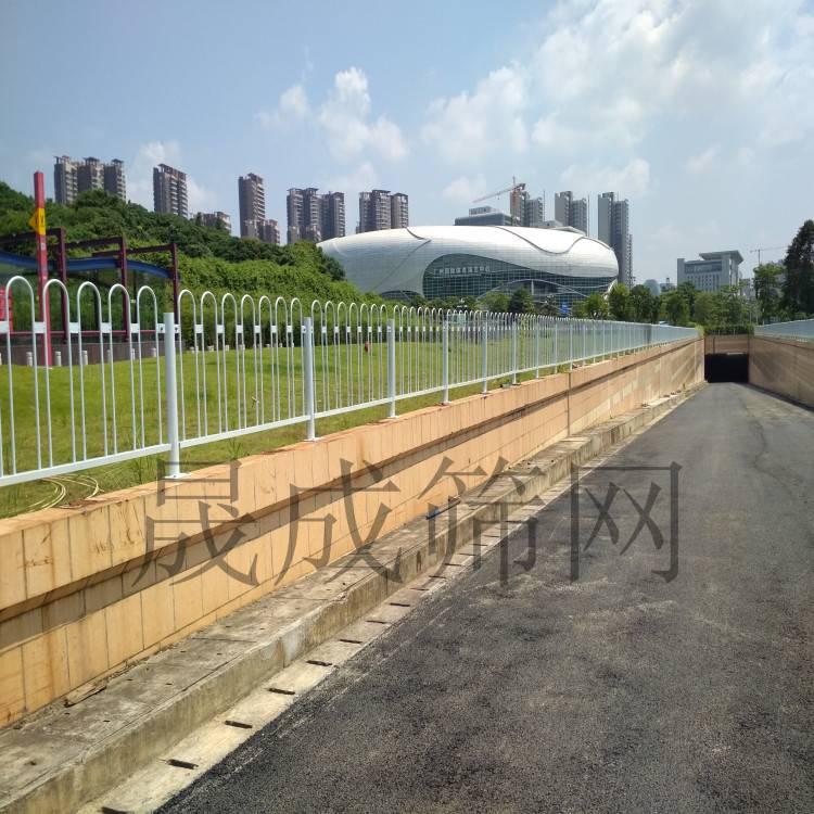 佛山市政交通栏 湛江市政马路防护栏 京式隔离栏路中安全隔离栅