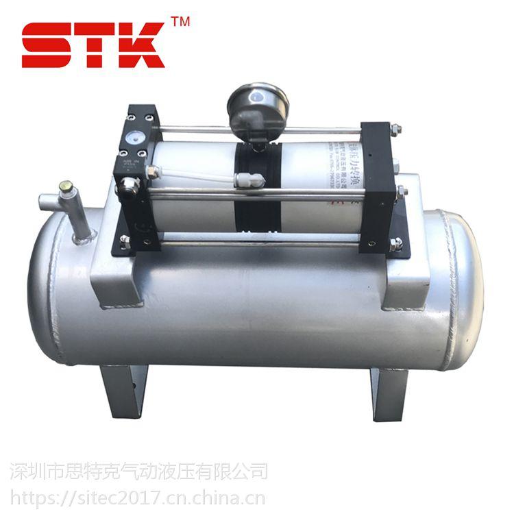 STK思特克AB02-2B 气动增压泵 热流道增压泵 空气增压器