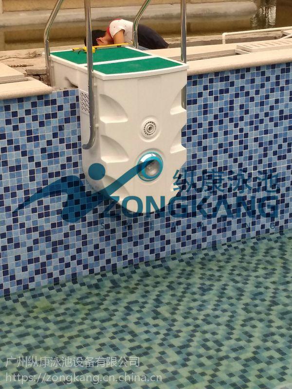 东莞游泳池工程_健身房拼装式泳池工程_广州纵康恒温过滤设备