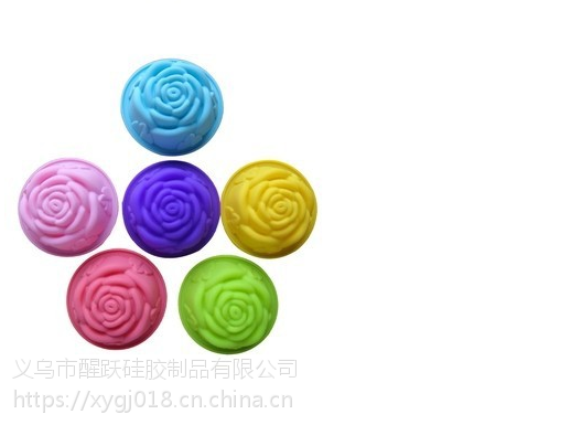 硅胶手工皂 硅胶玫瑰花模手工皂
