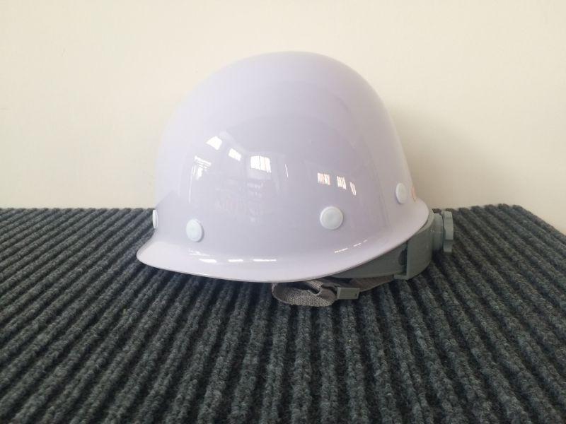 林盾 高强度玻璃钢安全帽 工地工程公司防砸安全帽 内衬旋钮式调节