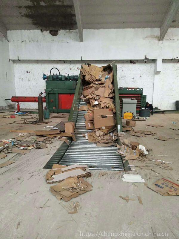 河南郑州宝泰机械标准全自动废纸打包机二手转让厂家销售