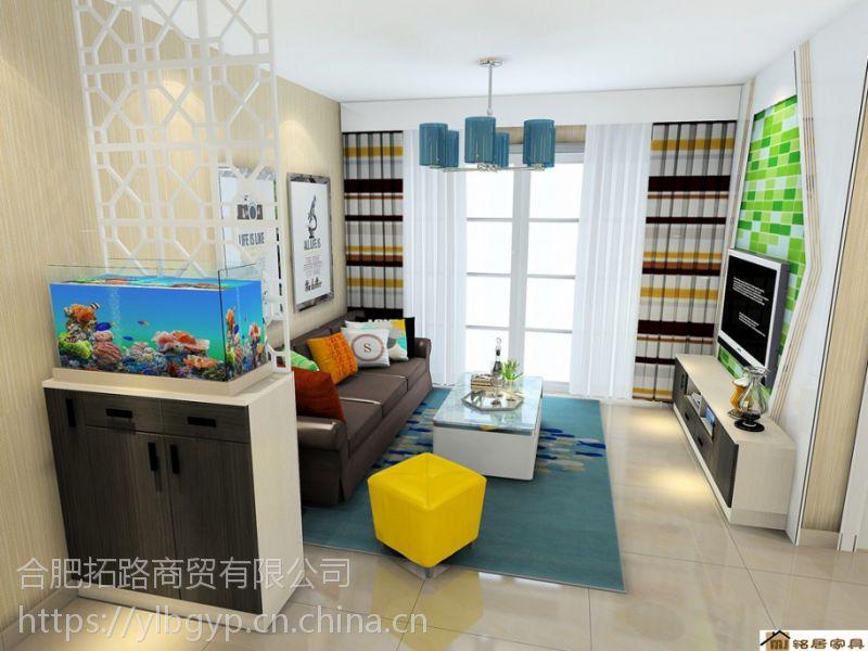 卧室家具榻榻米定制价格 合肥板式储物柜 衣柜 展示柜