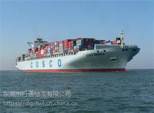 行通物流提供广东到柬埔寨海运专线货运