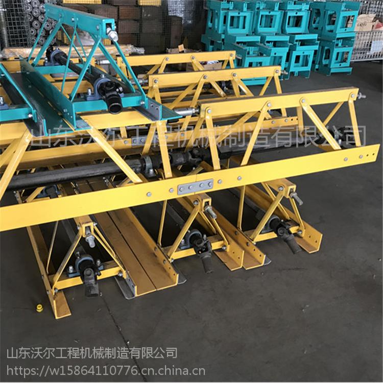 南京5米框架式整平机价格 随意组装水泥地面振动梁摊铺机厂家