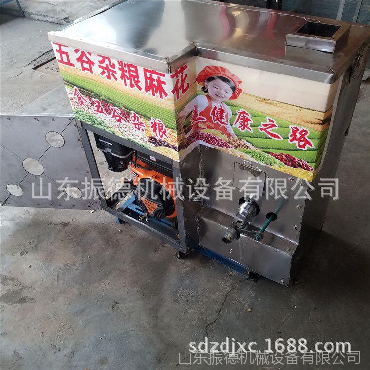 七用五谷杂粮膨化机 多缸杂粮膨化机出售 小型食品膨化机振德价格