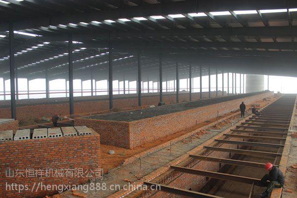 地爬车 标砖砖机 隧道窑建窑 窑炉工程承建企业 山东恒祥