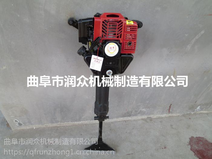 合金链条汽油挖树机 大直径苗圃挖树机