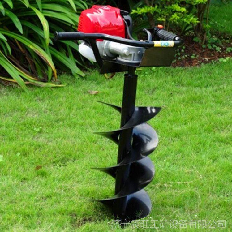 辰旺cw-38a小型挖坑机外形美观手提式挖坑机厂家直销果园种树专用神器