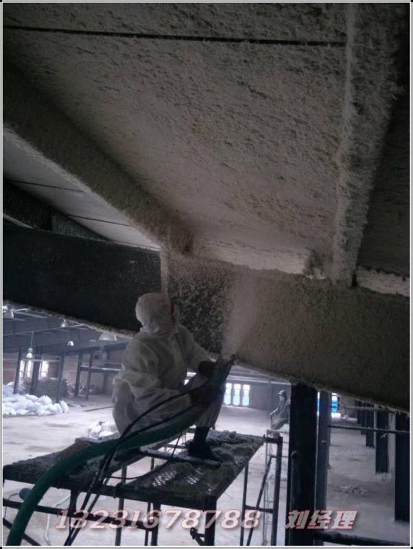 酒店无机纤维喷涂棉 武安工程承接QK会议室无机纤维喷涂棉