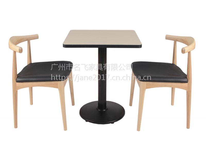 晋城市茶餐厅桌椅,古典中式甜品奶茶店实木桌椅定制厂