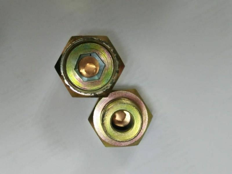 YOXD400450560750875液力耦合器易爆塞防爆塞M16M18M20M22M24*1.5