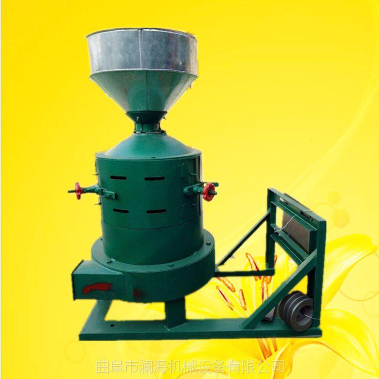 高粱去皮碾米机 小型碾米机厂家供应