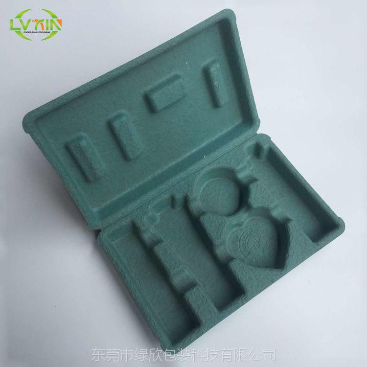 东莞工厂定制供应OEM环保可降解干压纸浆模塑包装盒