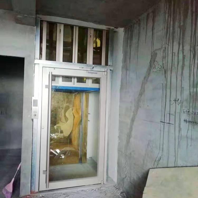 烟台家用简易液压升降电梯/坦诺室内外小型家用电梯定做厂家
