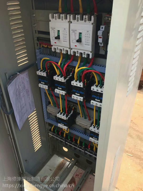 修津喷淋加压泵应急启动装置,星三角一用一备消防应急启动控制柜