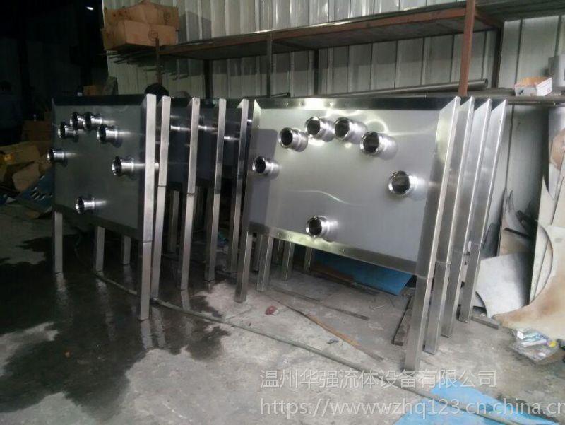 发酵罐区接管板 过滤接管板 糖化罐区接管板