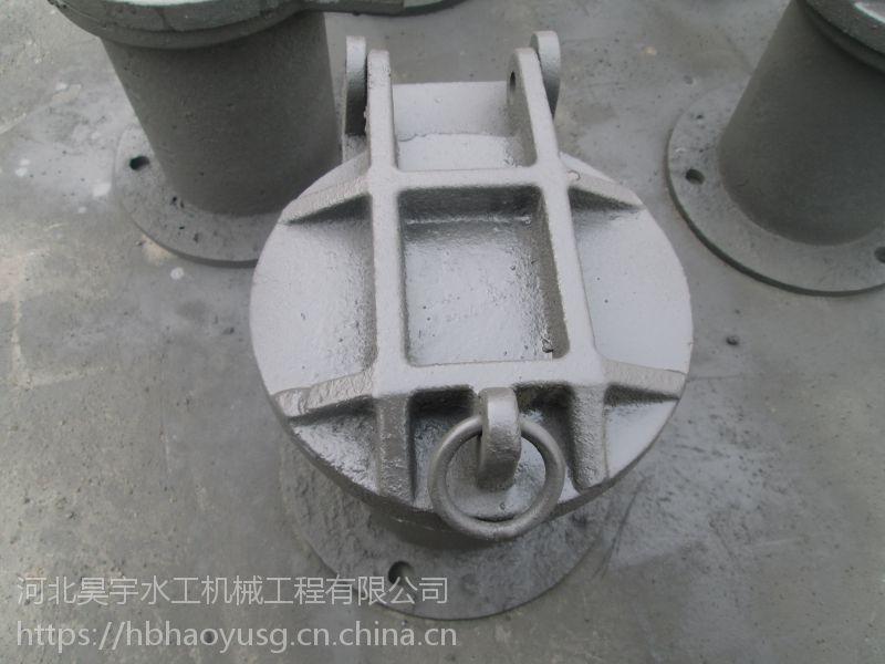 河北昊宇水工优良铸铁拍门加工定制厂家供应