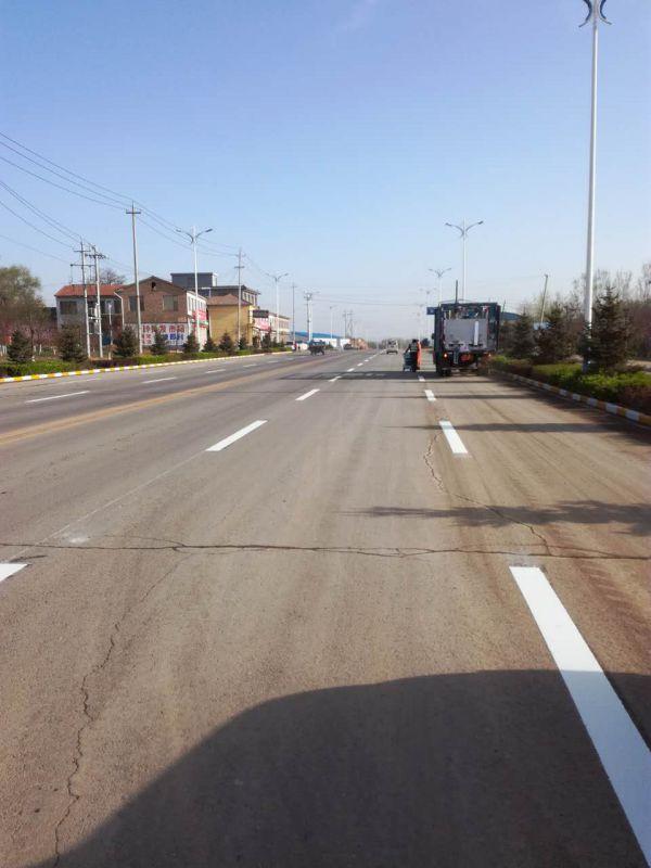 河南公路划线队|河南道路标线施工|郑州标线专业施工队