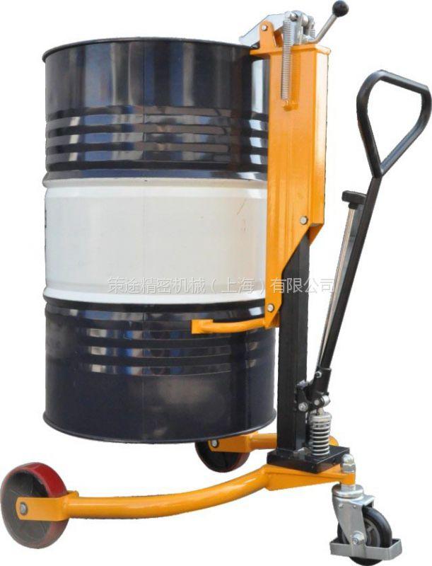 供应DT250油桶车 液压油桶车 轻型液压油桶搬运车 手推油桶搬运车