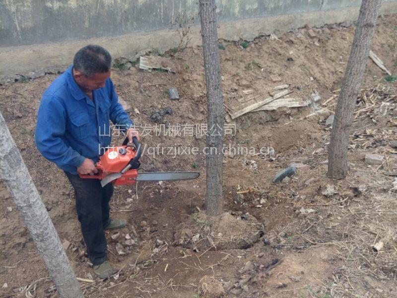 太湖县家用汽油移栽机 合金链条挖树机 汽油断根机 浩发