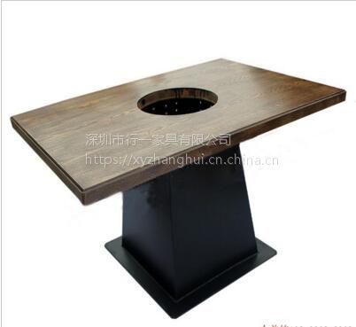 耐高蒸汽火锅桌 四人位火锅桌哪家工厂定制 蒸汽火锅设备定制
