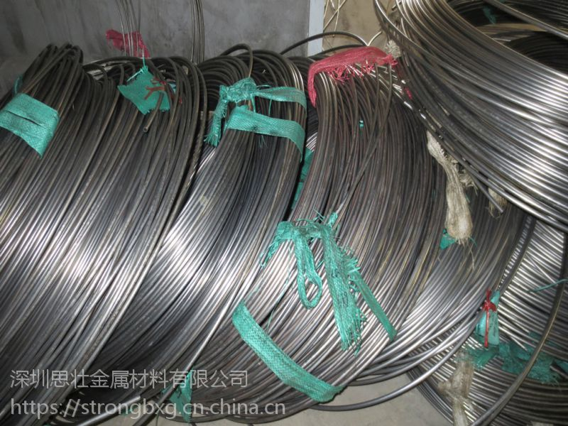 供应316L不锈钢毛细软管 电器金属用管精密圆管