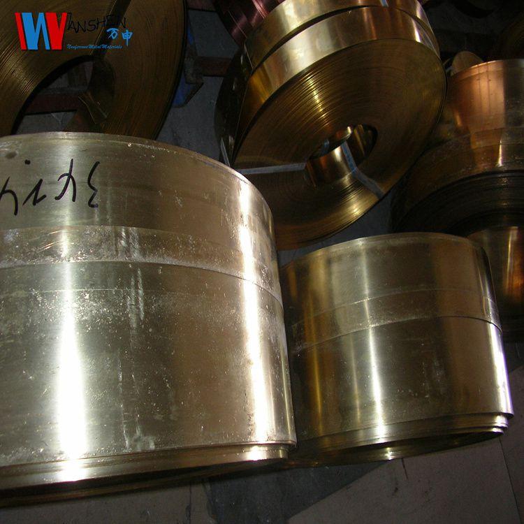 供应h65半硬黄铜带 耐磨黄铜带 耐冲压黄铜带 易焊接黄铜带