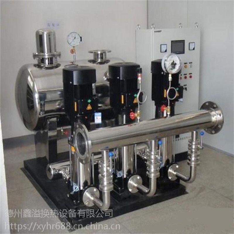 鑫溢 智能变频供水设备 二次无负压供水设备 功能