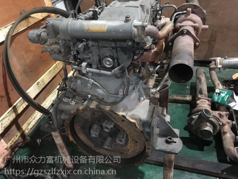 五十铃发动机总成 4HK1T发动机