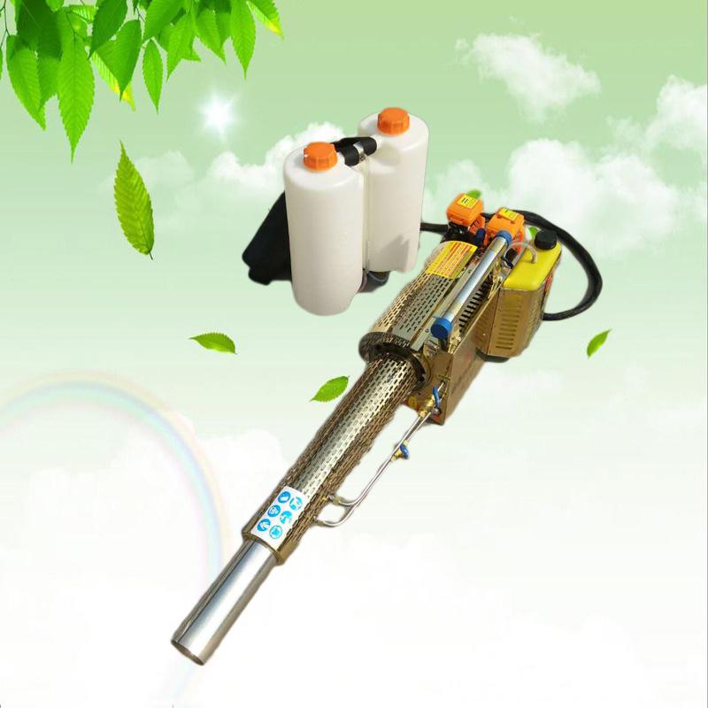 背负式汽油喷雾器 双管化油器汽油弥雾机