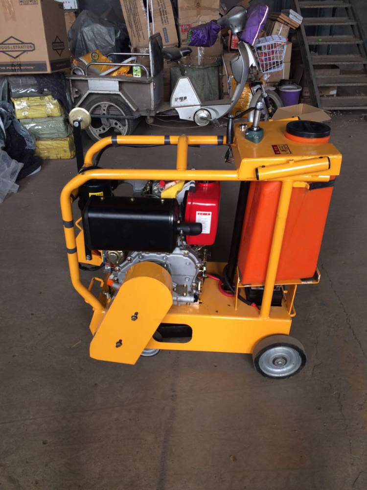 500型马路切割机路面刻纹机混凝土水泥马路路面切割机地面切缝机