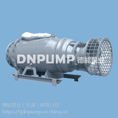 卧式潜水轴流泵价格-雪橇式支架安装