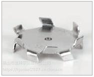 重型不锈钢分散盘,孔径5mm