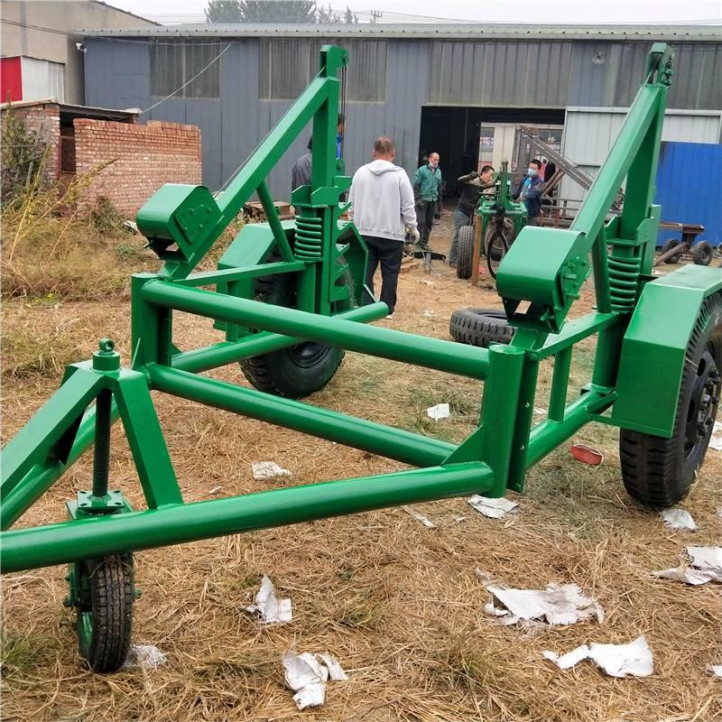 3吨电缆放线炮车怎么样 5吨液压电缆拖车怎么用 洪涛电力 厂家直销