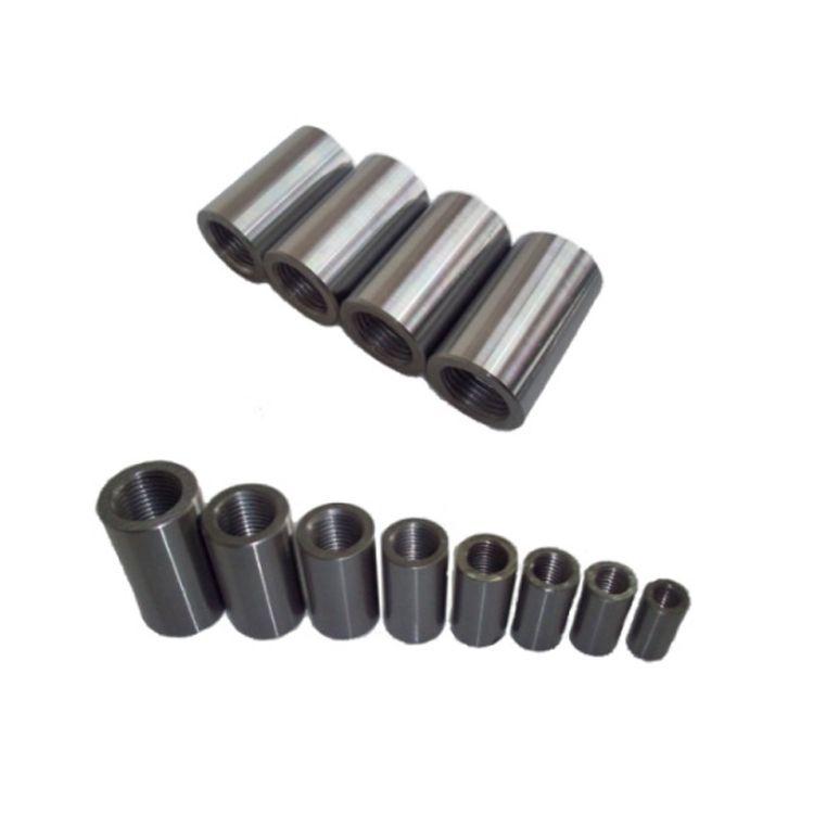 安达M14HRB500标准型钢筋直螺纹连接套筒45#钢国标直螺纹套筒